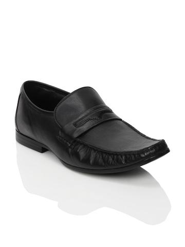 Franco Leone Men Formal Black Formal Shoes