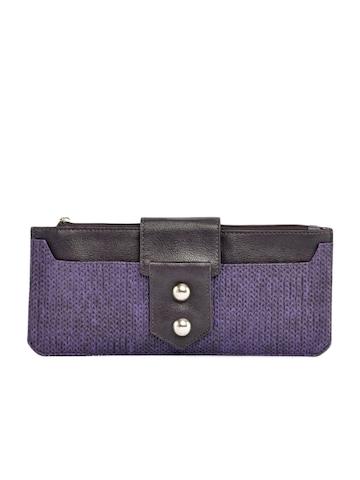 Baggit Women Udaan Jhuti Purple Wallet