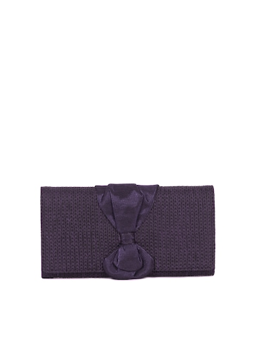 Baggit Women Sanjara Jhuti Purple Wallet