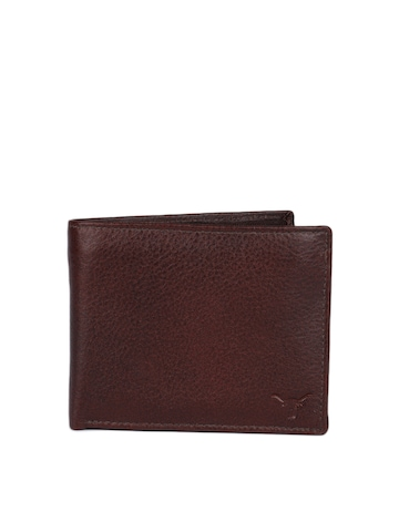Hidekraft Men Brown Wallet