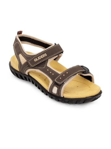 Gliders Men Brown Davis Sandals