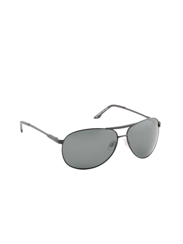 Polaroid Men Black Sunglasses