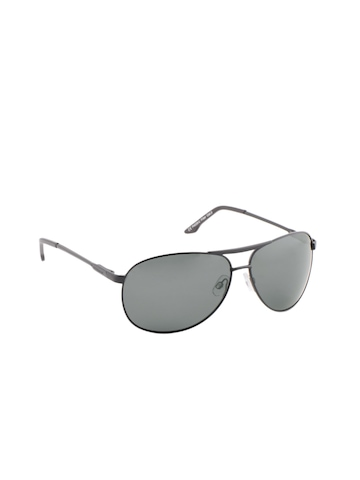 Polaroid Men Black Sunglasses