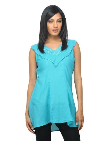 Sepia Women Blue Tunic