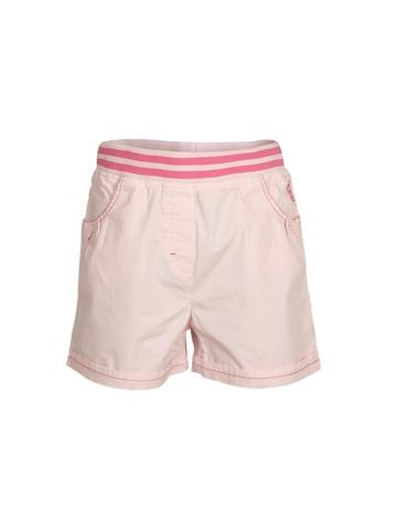 Allen Solly Kids Girls Poplin Pink Shorts