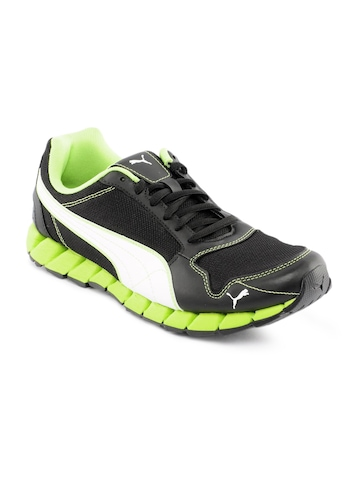 Puma Men Kevler Runner Black Sports Shoes