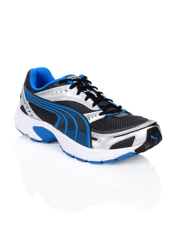 Puma Men Axis Blue & Black Sports Shoes