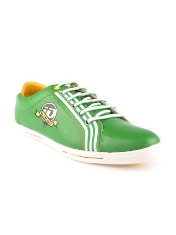 iD Men Green Casual Shoes