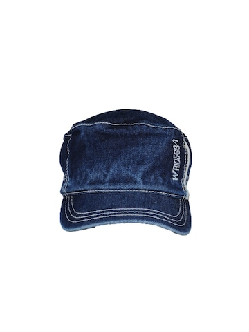 Wrangler Men Blue Denim Cap