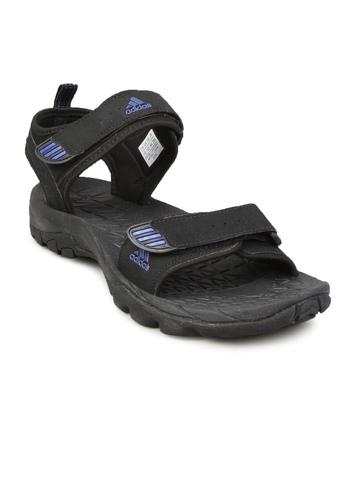 Adidas Men Black Cobalt Sandal