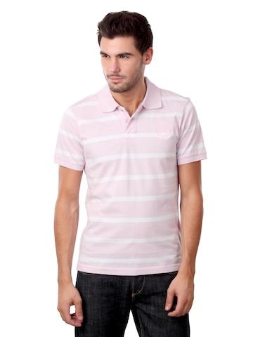 Free Authority Men Pink T-shirt