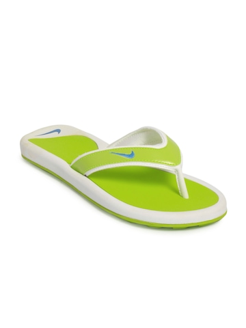 Nike Women Snapper Green Flip Flops