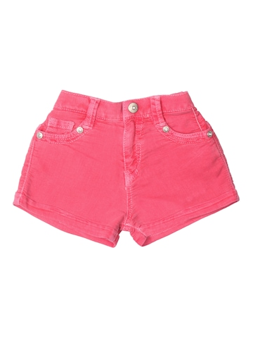 Gini and Jony Girls Pink Shorts