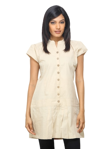 Sepia Women Beige Dress