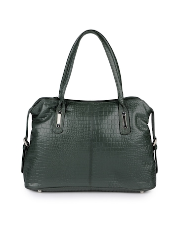 Hidekraft Women Green Handbag