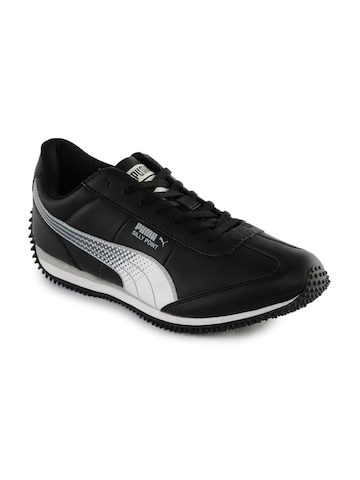 Puma Men Silly Point Black Sports Shoes