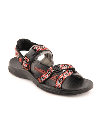 Ganuchi Men Casual Red Sandals