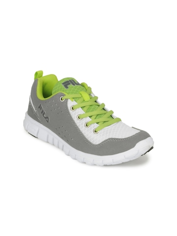 Fila Women Grey Speed Lite Sports Shoes
