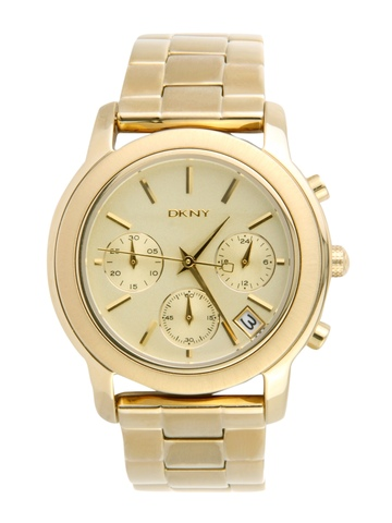 DKNY Women Beige Chronograph Watch NY8330