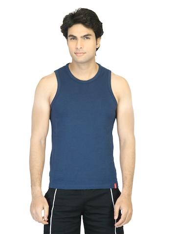Levis Men Navy Blue Innerwear Vest