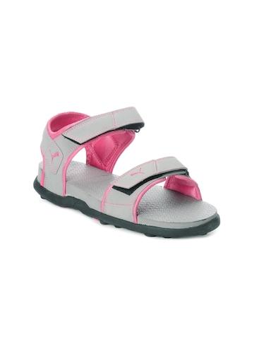 Puma Women Grey Sandals