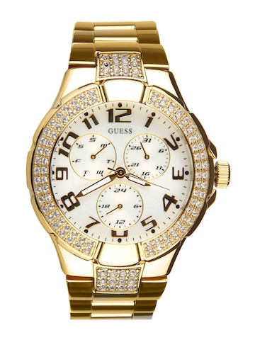 Guess Women Prism Gold Watch
