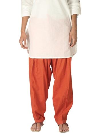 Fabindia Women Orange Salwar