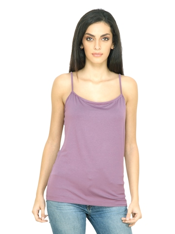s.Oliver Women Faded Lilac Top