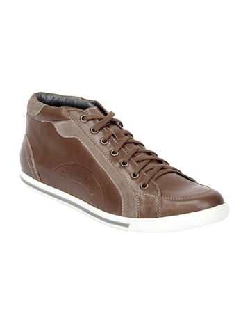 Stens by Enroute Men Brown Shoes