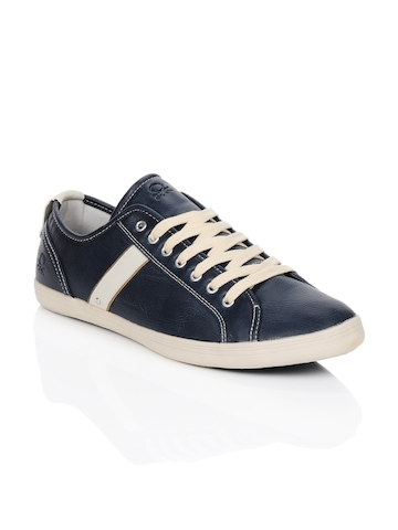 United Colors of Benetton Men Blue Shoes