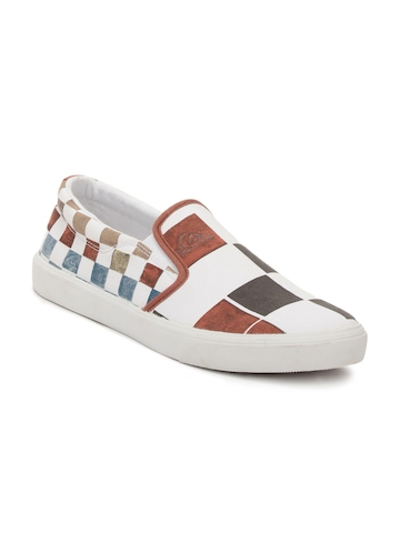 Quiksilver Men White Shoes
