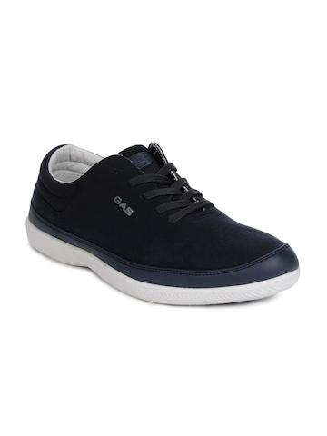 Gas Men Navy Blue Shoes