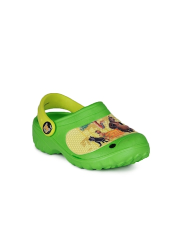 Jungle Book Boys Green Slippers