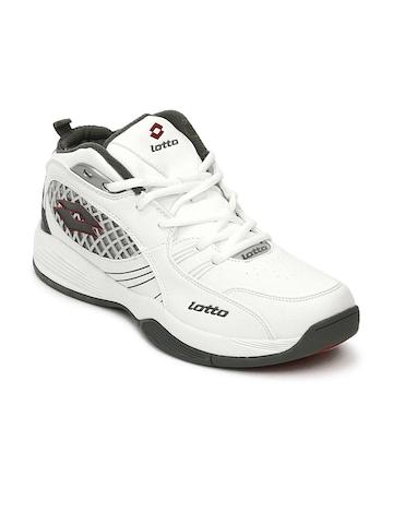 Lotto Men White Sports Shoes