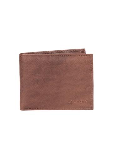 Levitate Men Brown Wallet