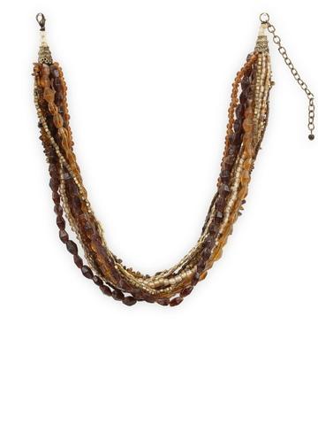 Adrika Women Brown Necklace