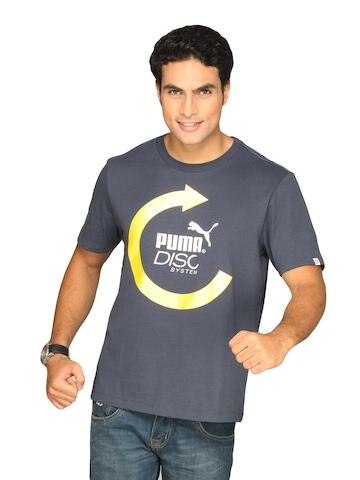 Puma Men's Heroes Graphic Blue T-shirt