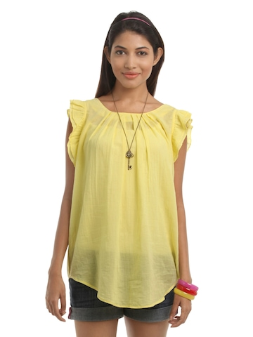 Vero Moda Women Yellow Tunic