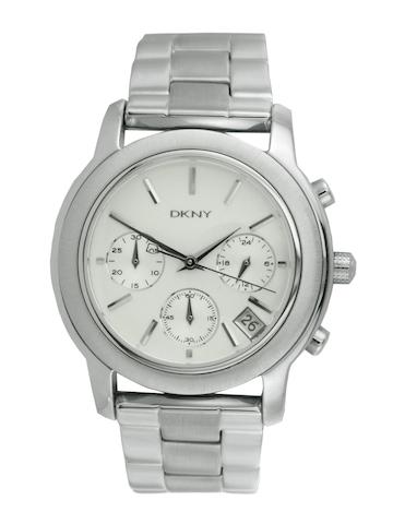 DKNY Women White Dial Chronograph Watch NY8327