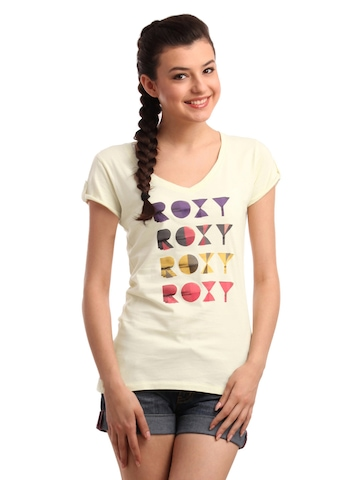 Roxy Women CreamT-shirt