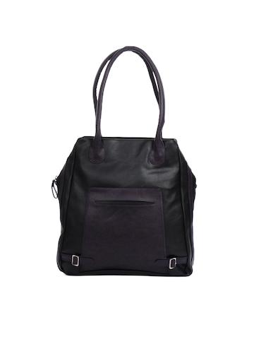 Baggit Women Zanzeel Taj Black Handbag