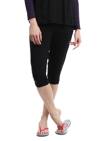 Inaya Women Black Lounge Pants