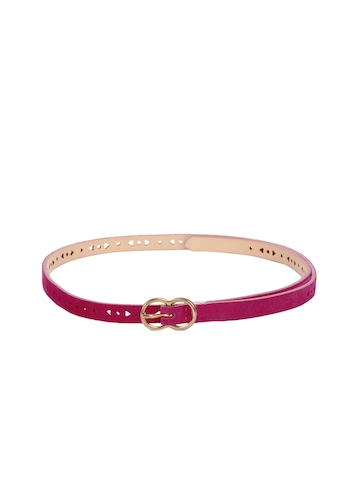 French Connection Women Pink Belt