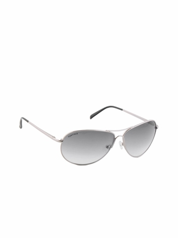 Fastrack Men Silver Sunglasses
