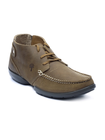 Woodland Men Brown Shoes
