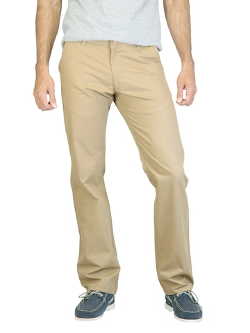 Highlander Men Khaki Trousers