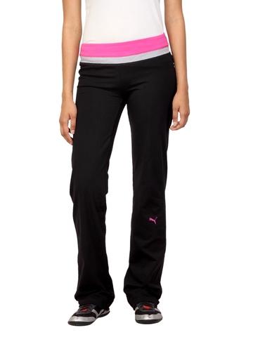 Puma Women Essential Workout Black Track Pants