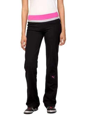 Puma Women Essential Workout Black Track Pants