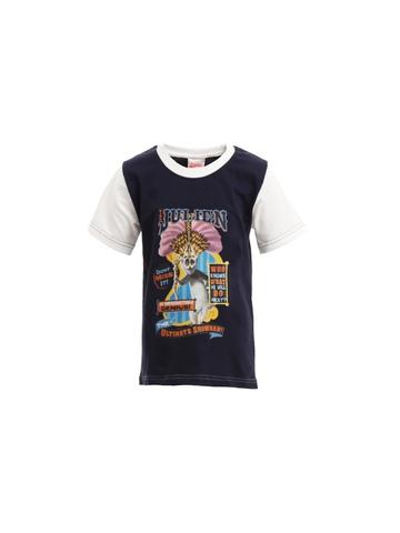 Madagascar3 Boys Navy Blue Printed T-Shirt