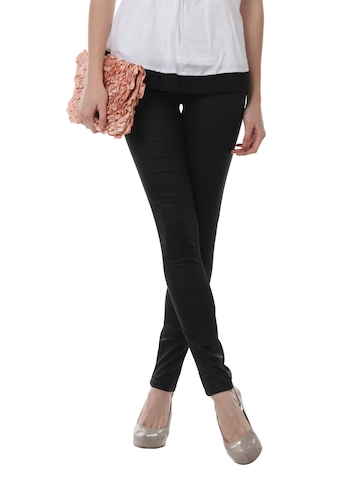 Pepe Jeans Women Black Jeggings